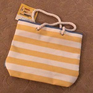 NWT Clinique beach bag